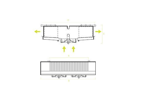 Evaporadores De Techo Industriales SG - Planos