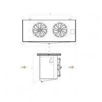 Evaporadores Cubicos Comerciales CCR – Planos