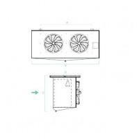 Evaporadores Cubicos Industriales SM – Planos