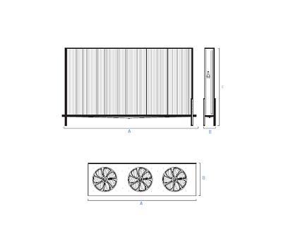 Evaporadores Murales Con Kit De Ventilacion KSC – Planos 1